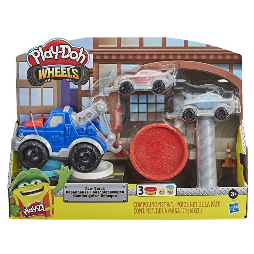 Caminhão De Reboque Massinha Play Doh - Hasbro