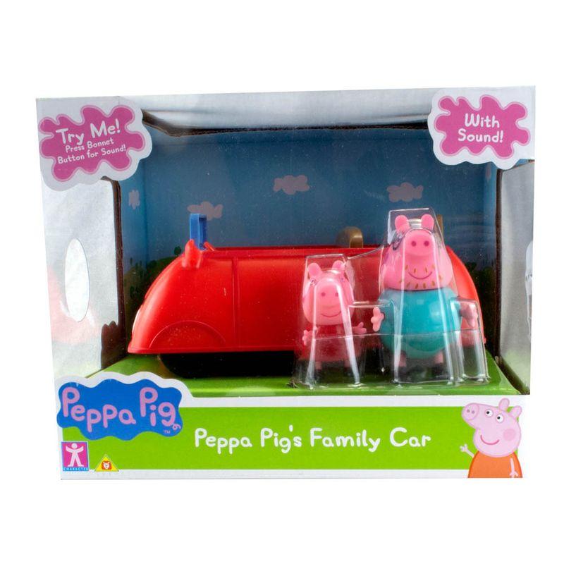 Carro da Familia Pig - Sunny