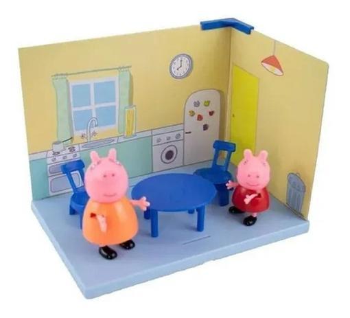 Cenário Da Peppa Cozinha Mamãe Pig E Peppa 2303 Sunny