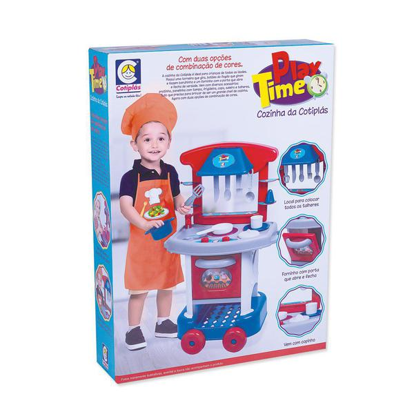 Conjunto De Cozinha - Play Time - Menino - Cotiplás