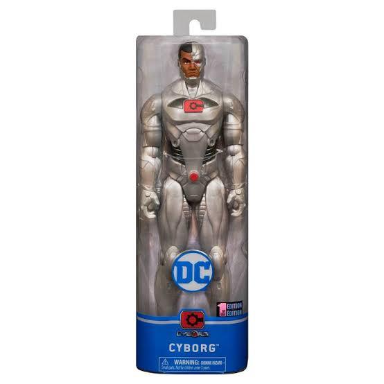 Cyborg Figura Articulada DC Comics 30Cm - Sunny