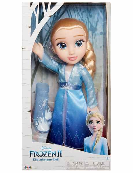 Elsa Frozen II - Vestido Luxo -  Elsa Adveture Doll