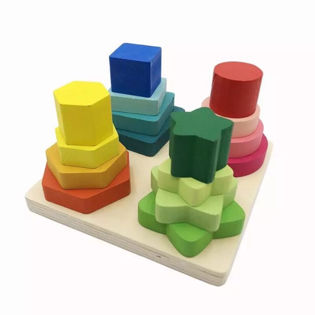 Formas Geométricas De Quatro Colunas - Blessed
