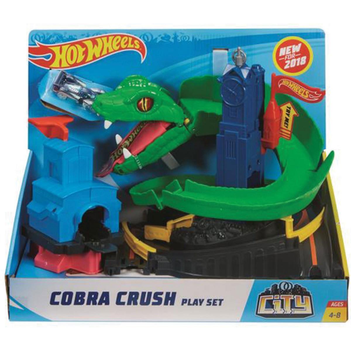 Hot Wheels Ataque De Cobra City - Mattel