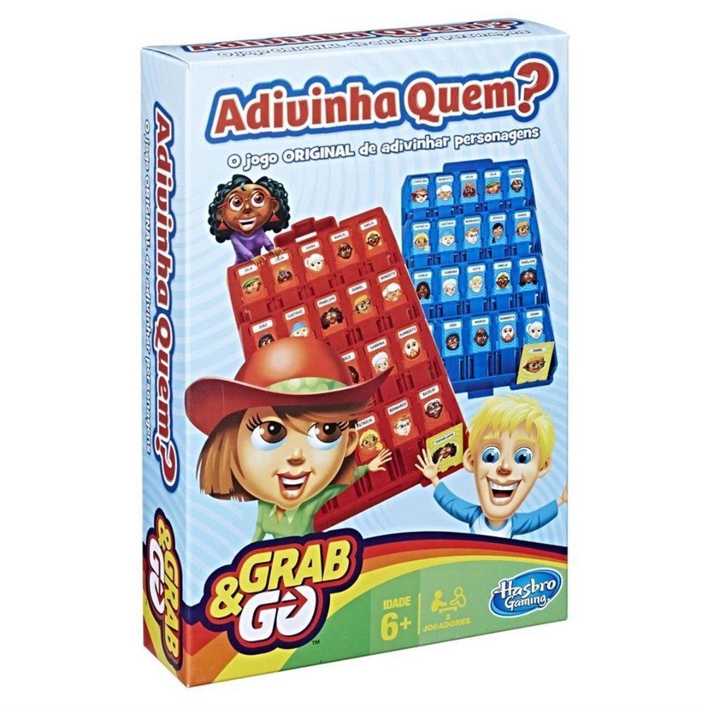 Jogo Adivinha Quem GRAB & GO - Hasbro