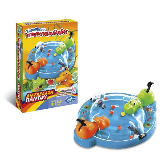 Jogo Hipopótamo Comilão Grab&Go - Hasbro