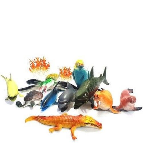 Kit Animais Ocean Animal - Barcelona