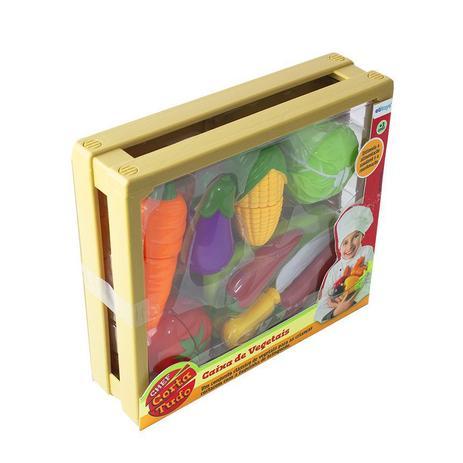 Caixa de Vegetais Chef Corta Tudo - Etitoys