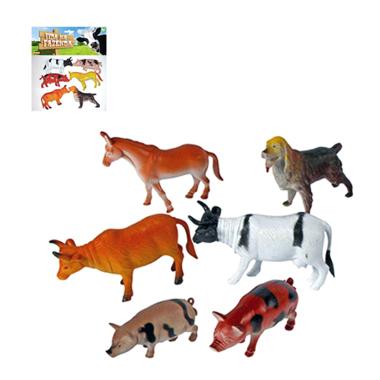 Kit de Animais da Fazenda Farm Set - Barcelona