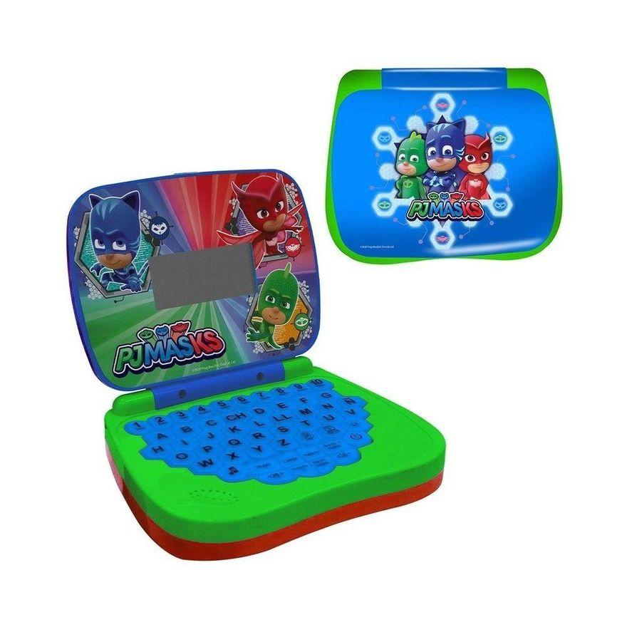 Laptop Infantil - Pj Masks - Bilíngue - Candide