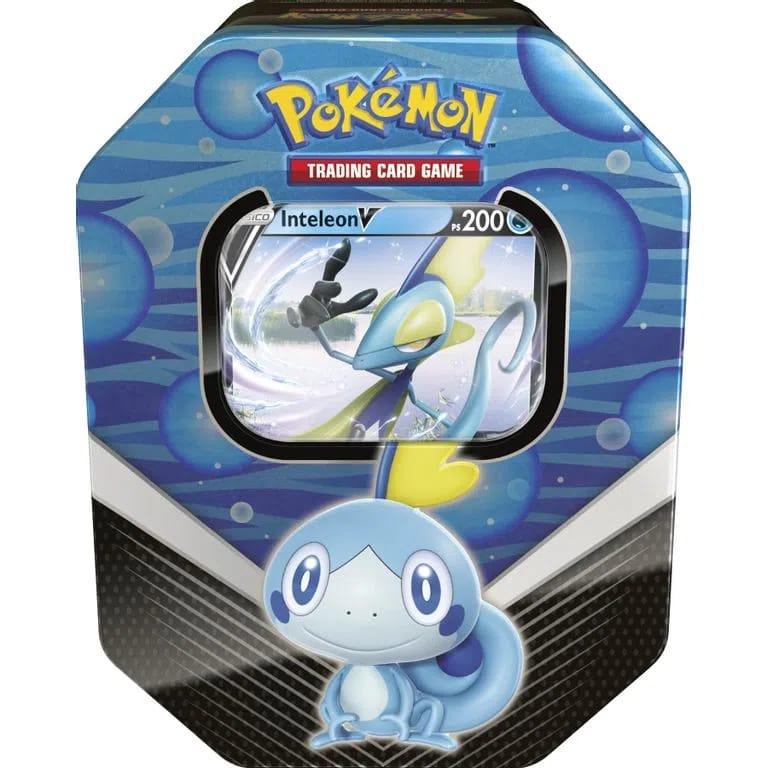 Lata Pokémon Inteleon V Parceiros de Galar - Copag
