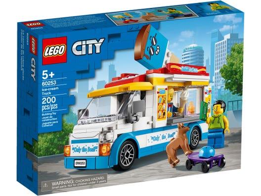 Lego City  Van De Sorvetes - 200 Peças