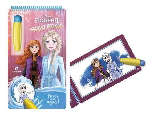 Livro Aqua Book Frozen 2 - Culturama