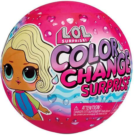 Lol Surprise Color Change Dolls - Candide