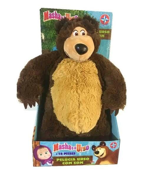 Masha e o Urso - Urso com Sons - Estrela