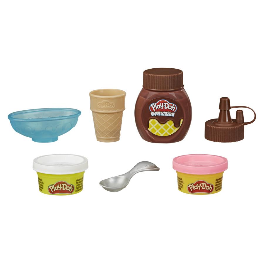 Play-Doh Mini Kit Cobertura de Sorvete - Hasbro