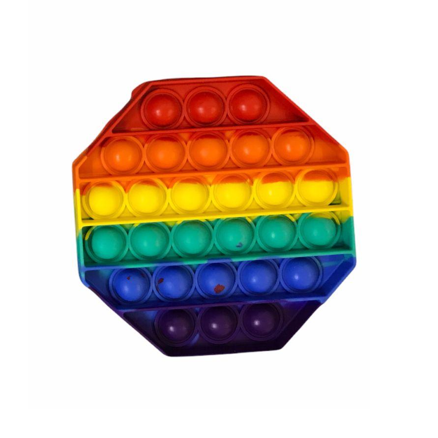 Pop It Fidget Brinquedo Sensorial Anti-Estresse Octógono - Pop Mania