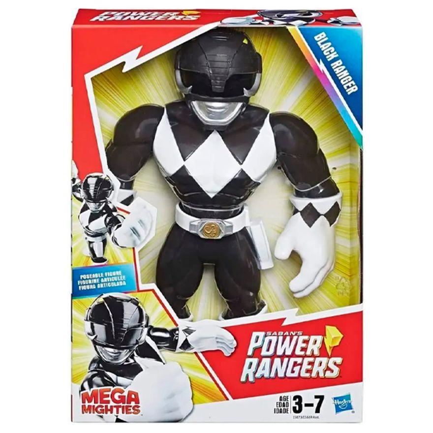 Power Rangers Mega Mighties Ranger Preto - Hasbro