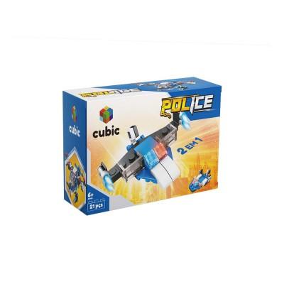 Serie Policial - Cubic - 21 Peças