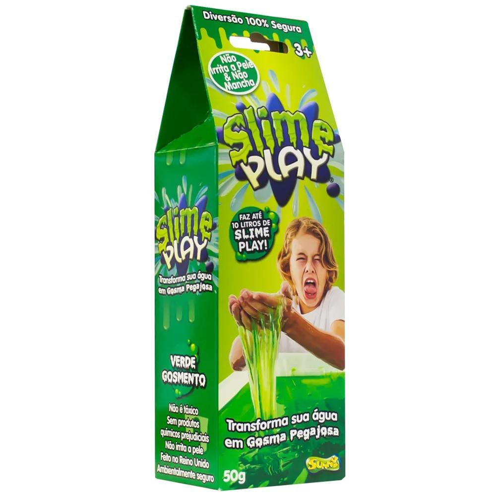 Slime Play 50 Gramas - sunny