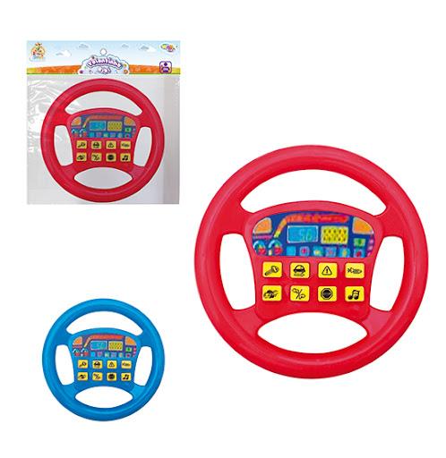 Volante Infantil Musical C/ Botões Som Carros - Well Kids
