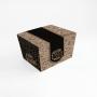 Box Antivazamento quadrada - Kraft