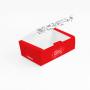 Box Antivazamento - Tamanho M - 10x16,9x5cm - 100 unidades