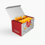 Embalagem para Batata Frita e Porções - Triplex