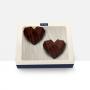 Embalagem para Coração Lapidado - 10 unidades