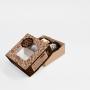 Embalagem para Doces e Fatia de bolo- Modelo Baixo