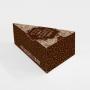 Embalagem para Fatia de Bolo em Kraft - 8x10x17cm - 100 Unidades