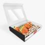 Embalagem para Sushi, Sashimi e Combinados - Tamanho M - 18x20x4cm - 100 unidades