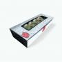 Embalagem para Sushi, Sashimi e Combinados - Tamanho P - 7x20x4cm - 100 unidades