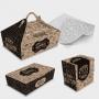 Kit de Amostra - Embalagens Fast-Food Kraft