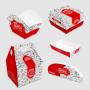 Kit de Amostra - Embalagens Fast-Food Triplex