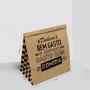Saco Kraft para Delivery - Tamanho G - 29x18x31cm