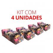 Colmeia Cristal 20cm - Kit c/ 4 unidades