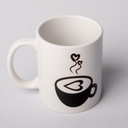 "Caneca ""I love Coffee"""
