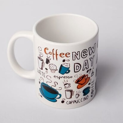 "Caneca ""New Day"""