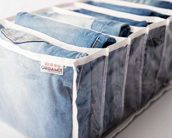 Colmeia cristal para Calças Jeans - 6 divisões