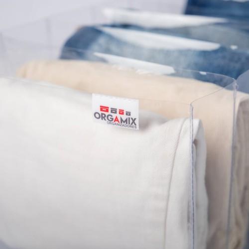 Colmeia transparente para Calças Jeans - 6 divisões