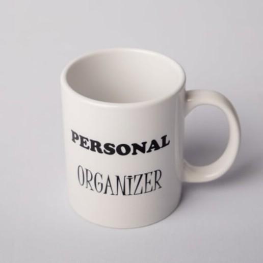 """Caneca """"Personal Organizer"""""""