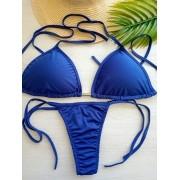 Biquíni Azul Verão