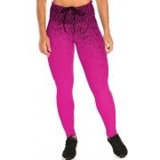 Calça Legging Gym Branca Rosa Pink