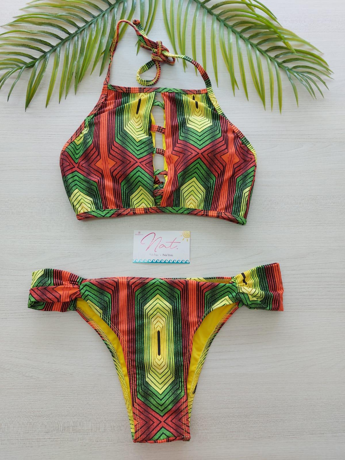Biquíni Cropped Jamaica