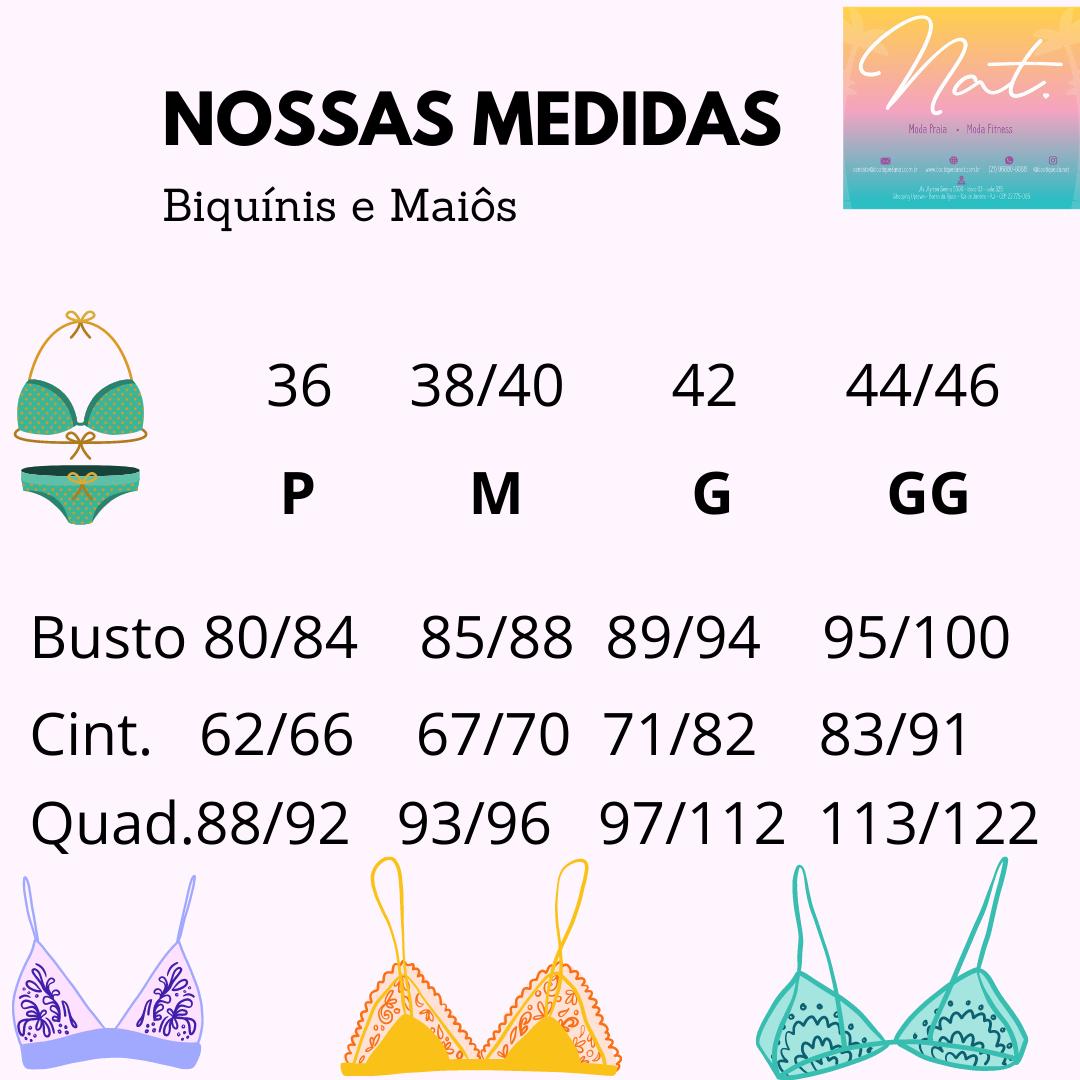 Biquíni Rosa Florido Semi Fio Ripple - NOVO NO SITE