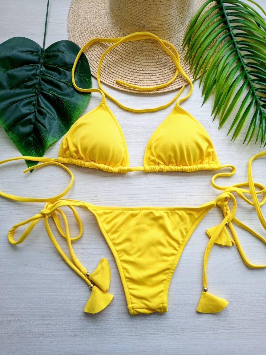Biquíni Sol de Verão - Amarelo