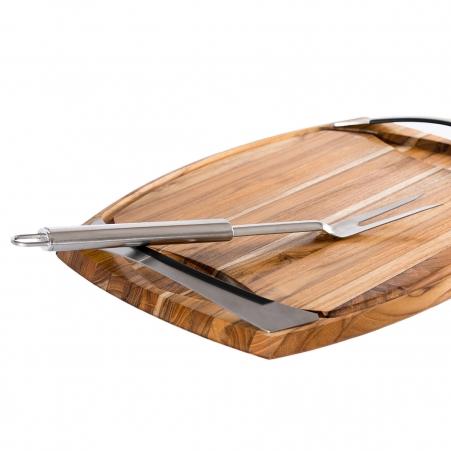 Tábua de Churrasco Bilbao Wood Pro