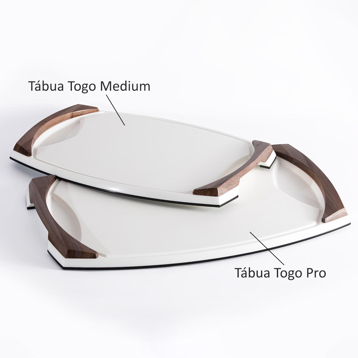 Tábua de Churrasco Togo White Medium
