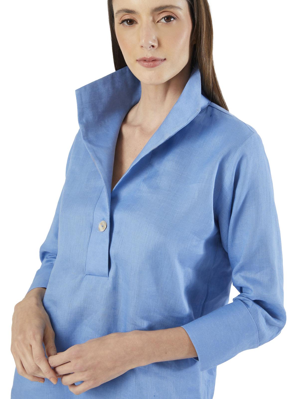 Camisa 100% Linho Calma